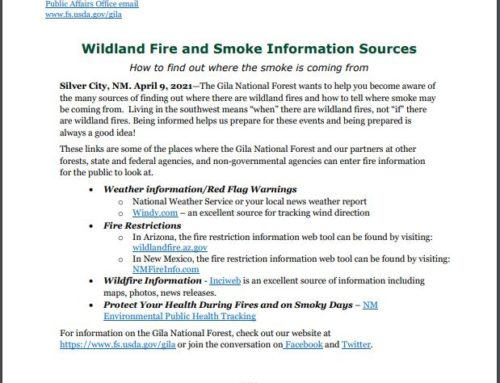 Wildland Fire and Smoke Information Resources