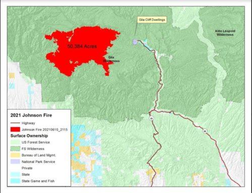 Johnson Fire Map