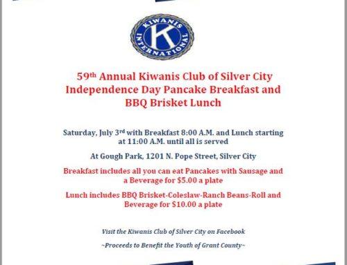 Kiwanis Annual Pancake Breakfast & BBQ Lunch