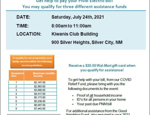 PNM On-site Assistance Event in Silver City