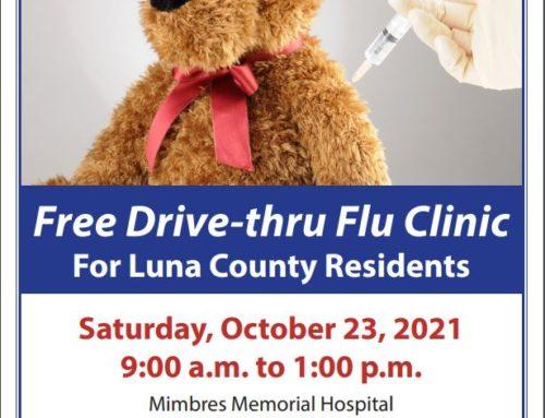 Luna County Free Drive-Thru Flu Clinic
